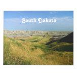 Paisaje de Dakota del Sur Libreta Para Notas