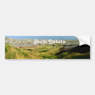 Paisaje de Dakota del Sur Pegatina Para Auto