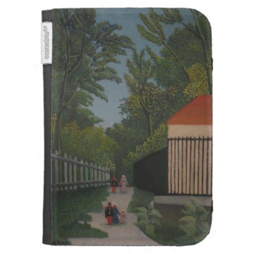 Paisaje de Enrique Rousseau- en el parque de Monts