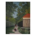 Paisaje de Enrique Rousseau- en el parque de Monts Postal