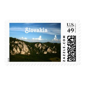 Paisaje de Eslovaquia Franqueo