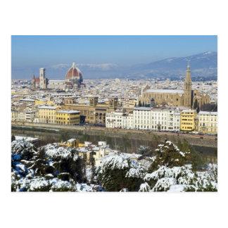 Paisaje de Florencia de Piazzale Postales