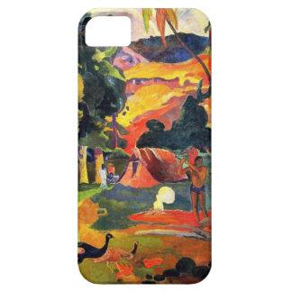 Paisaje de Gauguin con el caso del iPhone 5 de los Funda Para iPhone SE/5/5s