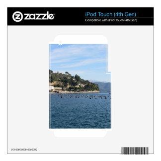 Paisaje de Golfo Dei Poeti con su granja del iPod Touch 4G Skin