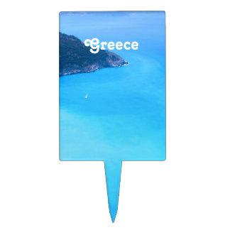 Paisaje de Grecia Decoración De Tarta