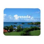 Paisaje de Grenada Iman Flexible