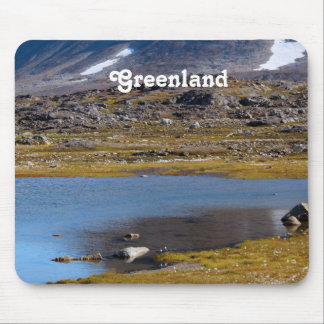 Paisaje de Groenlandia Alfombrilla De Ratones