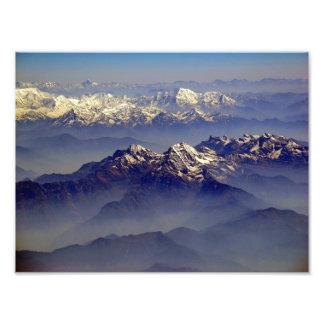 Paisaje de Himalaya Impresión Fotográfica