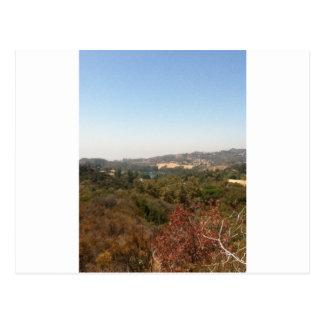 paisaje de hollywood tarjetas postales