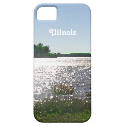 Paisaje de Illinois iPhone 5 Carcasas