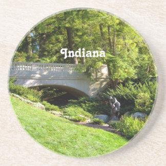 Paisaje de Indiana Posavasos Manualidades