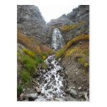 paisaje de la cascada postal