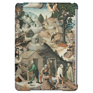 Paisaje de la explotación minera, 1521