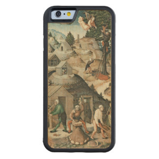 Paisaje de la explotación minera, 1521 funda de iPhone 6 bumper arce