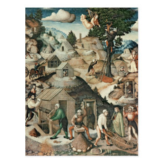 Paisaje de la explotación minera, 1521 postales