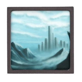 paisaje de la fantasía del iceworld cajas de regalo de calidad