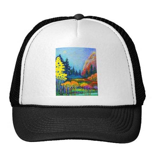 paisaje de la fantasía gorras