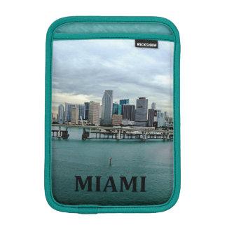 Paisaje de la foto del horizonte de Miami la Flori Funda Para iPad Mini