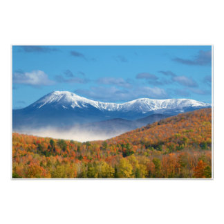 Paisaje de la foto del Mt Katahdin Póster