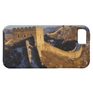 Paisaje de la Gran Muralla bajo puesta del sol, Ch iPhone 5 Case-Mate Cárcasa