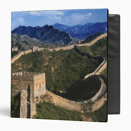 "Paisaje de la Gran Muralla, Jinshanling, China Carpeta 1 1/2"""