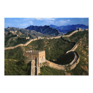 Paisaje de la Gran Muralla, Jinshanling, China Impresiones Fotograficas