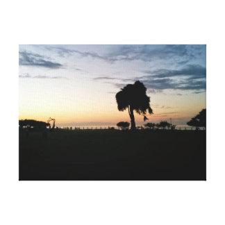 Paisaje de La Jolla en San Diego, CA Impresion En Lona