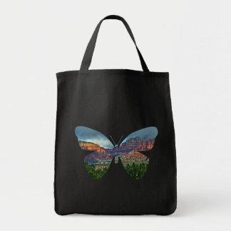 Paisaje de la mariposa de Sedona Arizona, la bolsa
