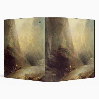Paisaje de la montaña con Banditti, c.1780 (aceite
