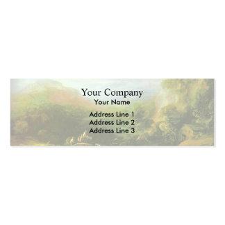 Paisaje de la montaña de Thomas Gainsborough-, pue Tarjetas De Visita
