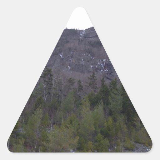 Paisaje de la montaña del NH Calcomania Triangulo Personalizadas