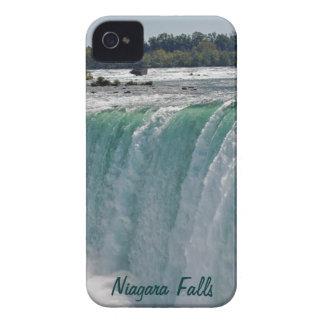 Paisaje de la naturaleza de las caídas de la carcasa para iPhone 4 de Case-Mate