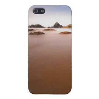 paisaje de la playa de los brookings iPhone 5 carcasa