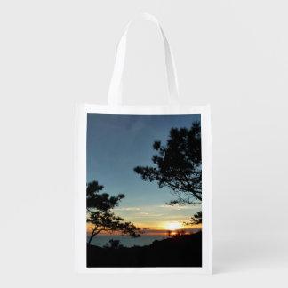 Paisaje de la puesta del sol III California del Bolsas Reutilizables