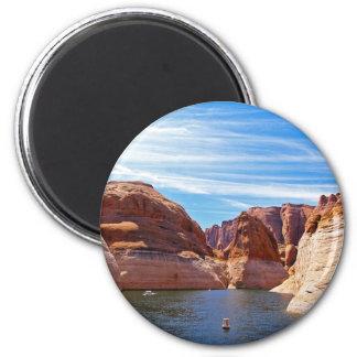 Paisaje de la reserva de agua de Arizona de la pág Imán Redondo 5 Cm