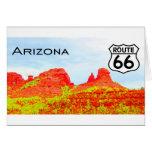 Paisaje de la ruta 66 de Arizona Tarjetas