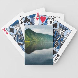 Paisaje de la tarde cartas de juego