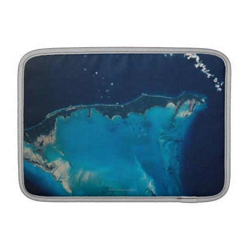 Paisaje de la tierra del espacio 2 funda macbook air