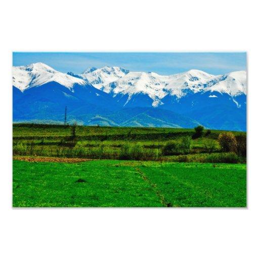 Paisaje de las montañas foto