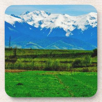 Paisaje de las montañas posavaso