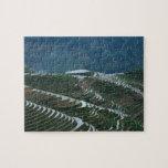 Paisaje de las terrazas en la montaña, 2 del arroz puzzle con fotos