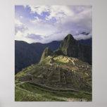 Paisaje de Machu Picchu, Perú Póster
