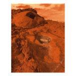 Paisaje de Marte Flyer A Todo Color