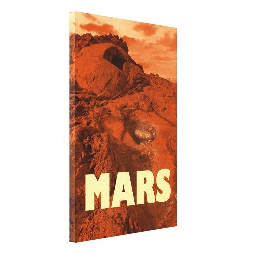 Paisaje de Marte Impresiones En Lona