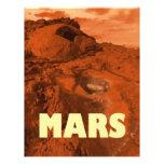 Paisaje de Marte Tarjetas Informativas