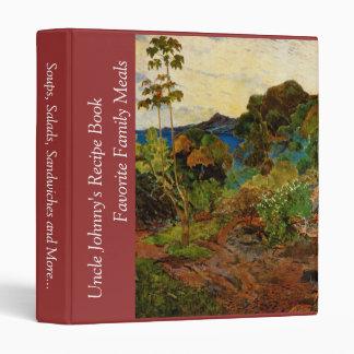 """Paisaje de Martinica de Paul Gauguin (1887) Carpeta 1"""""""