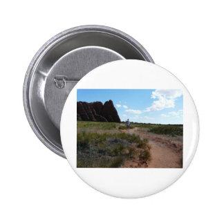 paisaje de Moab con la trayectoria Pins