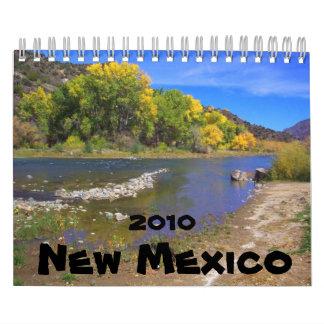 Paisaje de New México Calendario