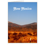 Paisaje de New México Tarjeta