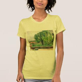 Paisaje de Paul Cezanne- en el Jas de Bouffin Camisetas